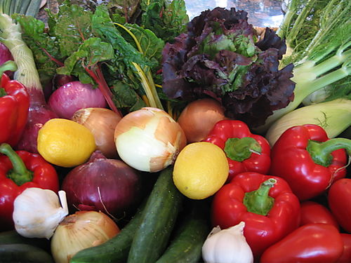 How can you resist the beautiful vegetables that are ripe and ready to ...
