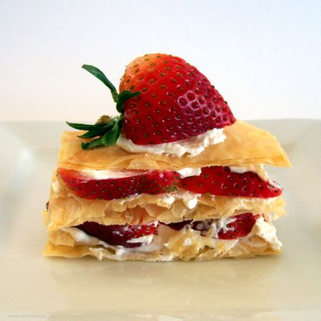 Strawberry Napoleon 1