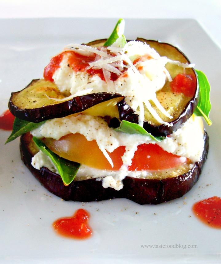 Eggplant Sandwich TasteFood