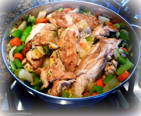 One Pot Chicken