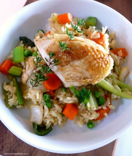 Chicken Rice Vegetables