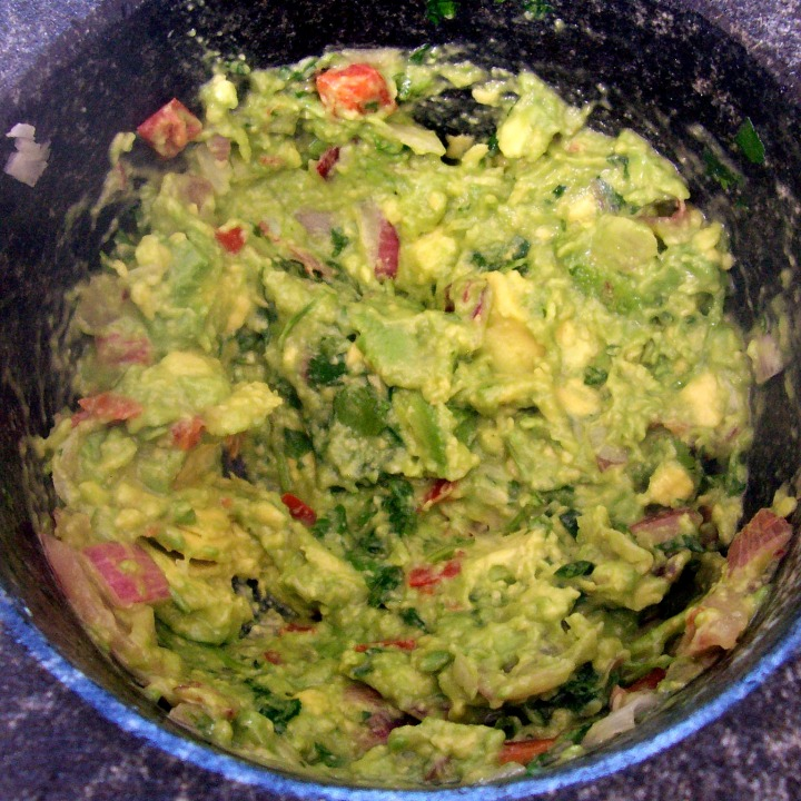 My Mortar and Pestle and a Guacamole Recipe