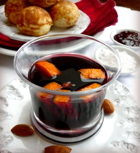 Glogg and Aebleskivers