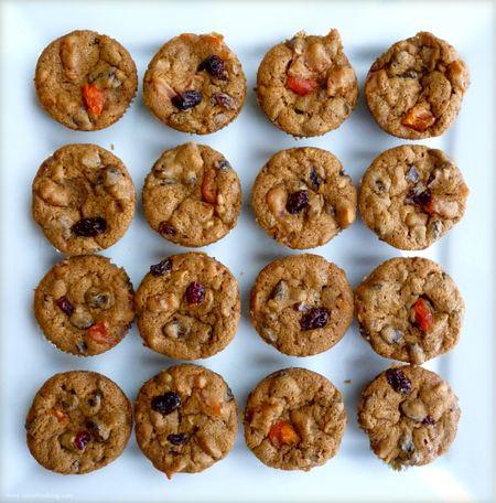 Mini-Dried Fruit and Nut Cakes | TasteFood