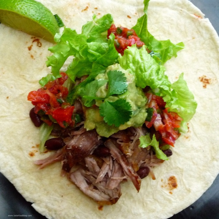 Pork Carnitas Soft Tacos
