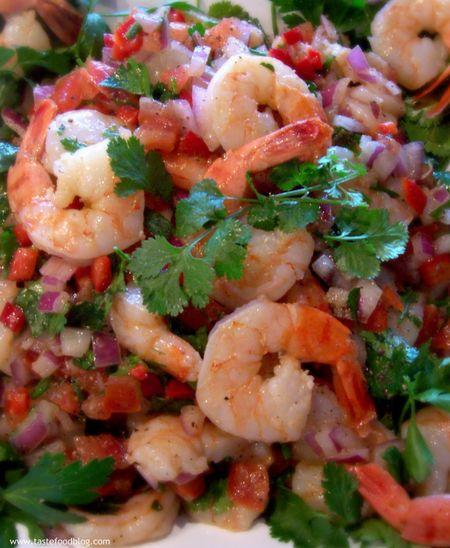 Fiesta Shrimp Salsa