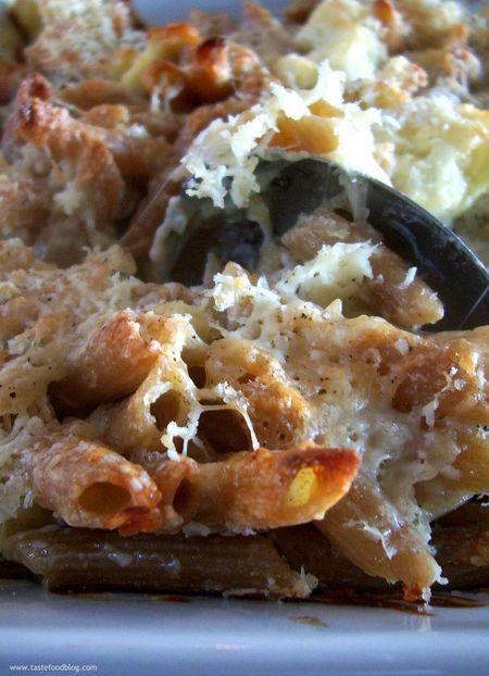 Macaroni Cauliflower Cheese