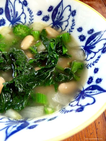 Broccoli Rabe Bean Soup