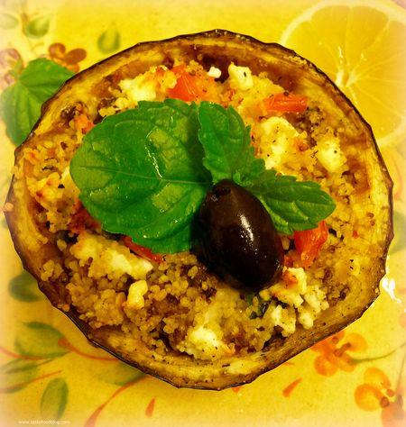 Couscous Eggplant