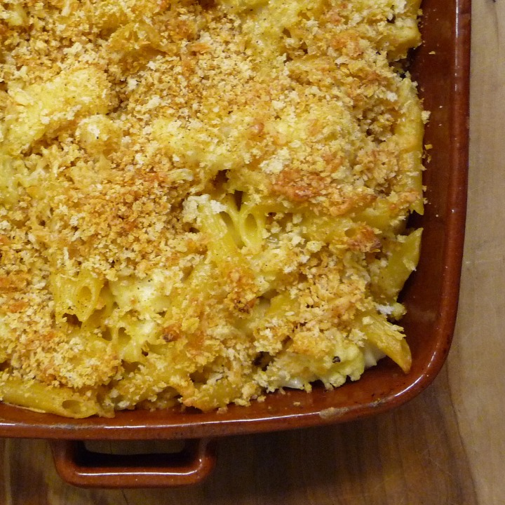 Kitchen Table Philosophy:  Macaroni, Cauliflower and Cheese