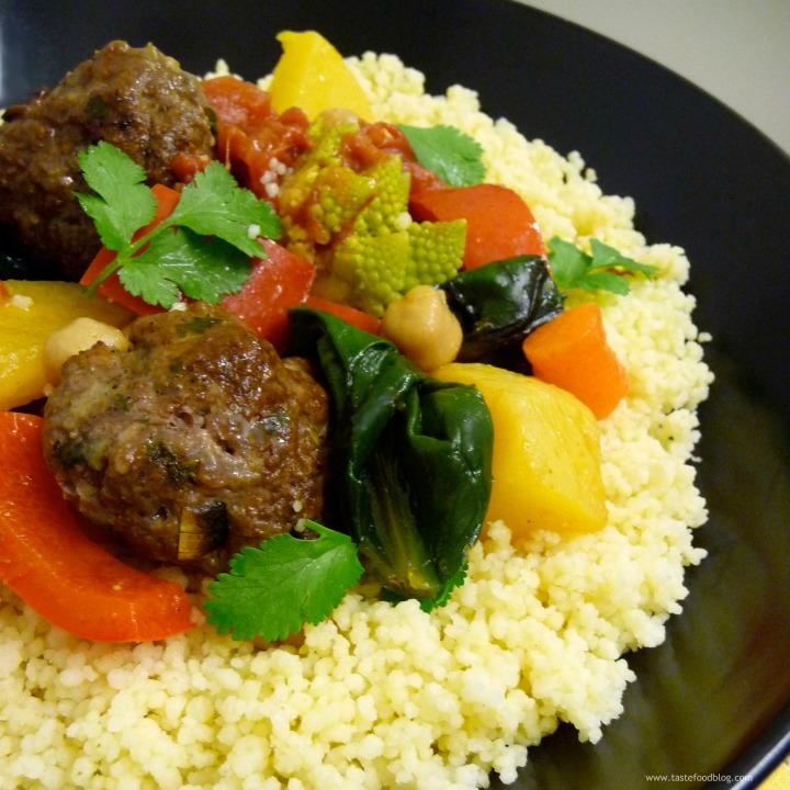 Lamb Kefta and Vegetable Couscous