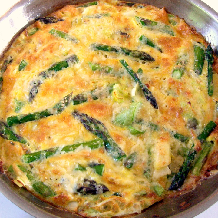 In Season: Asparagus and Leek Frittata