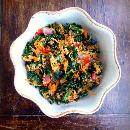 Bulgur Kale Carrot