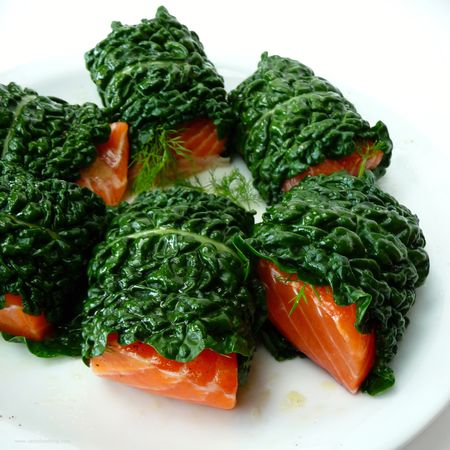 Salmon Kale