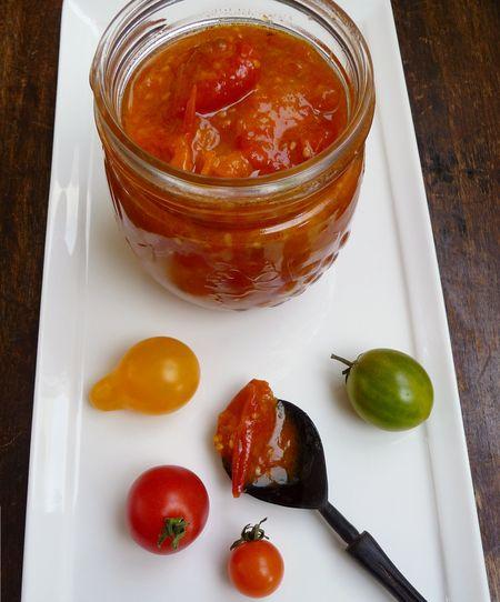 Tomato confit a