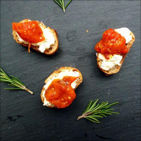 Tomato Confit Crostini