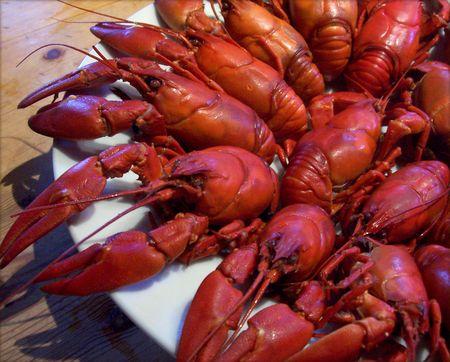 Crayfish plate