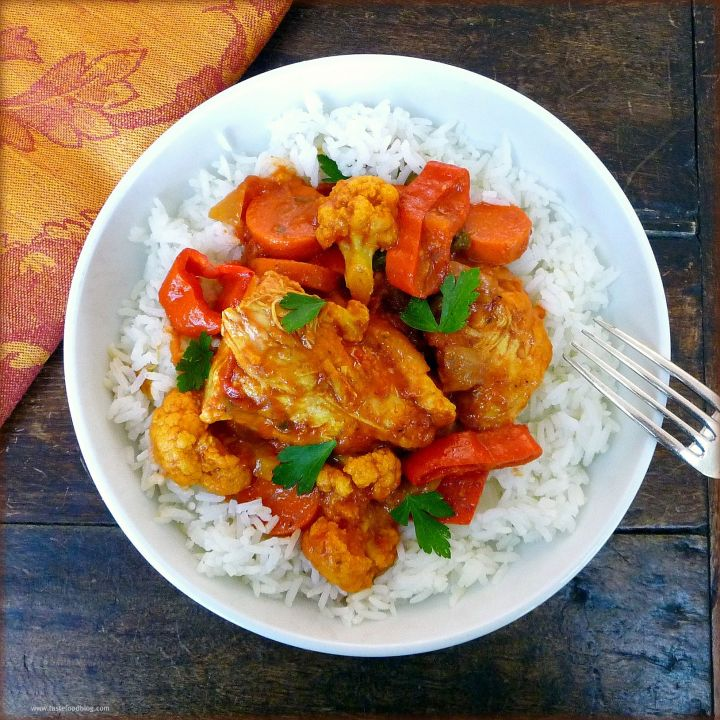 Curry Chicken Stew