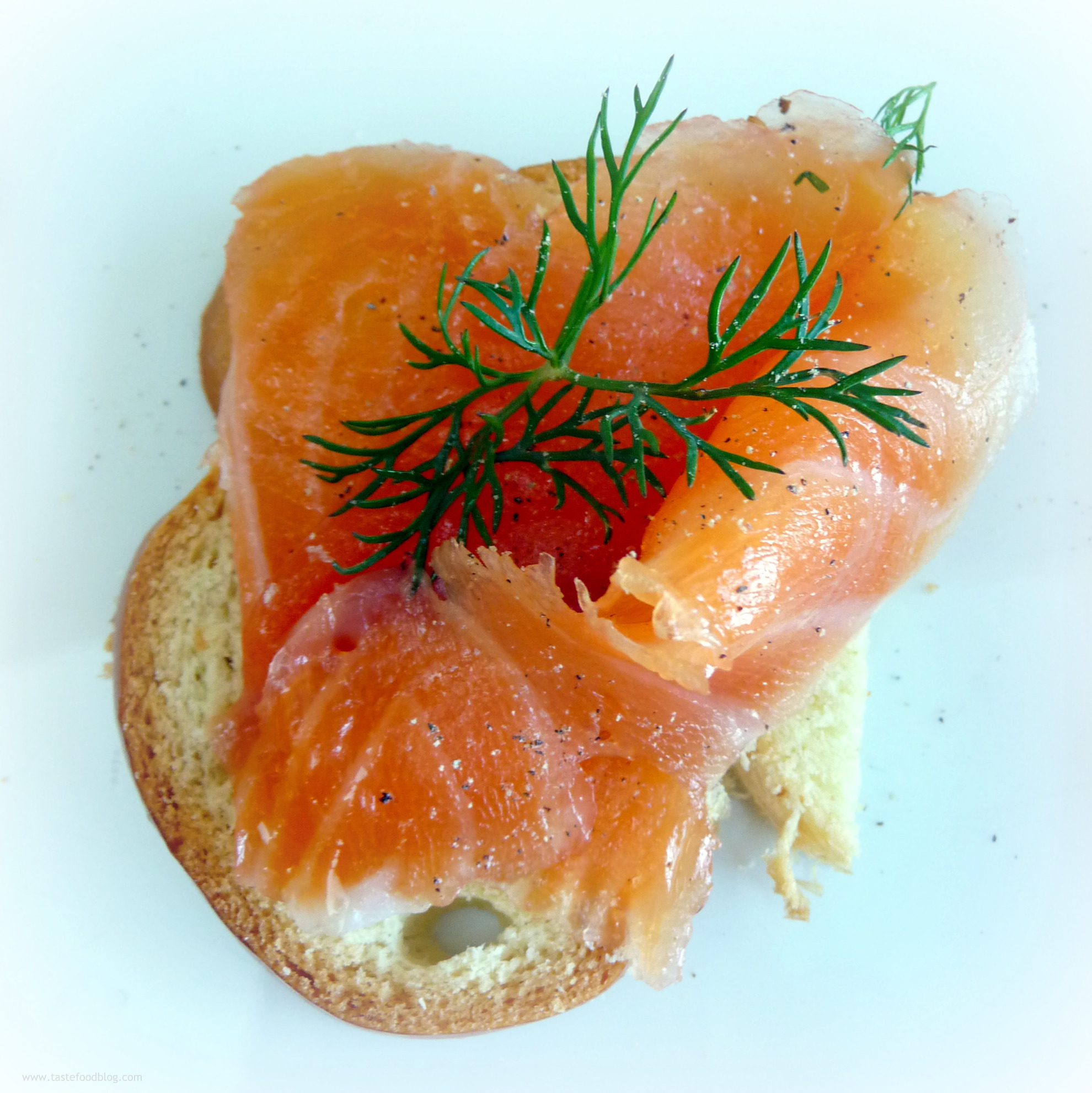 Holiday Entertaining: Salmon Gravlax | TasteFood