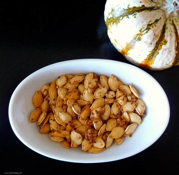 Post-Halloween Detox: Spice Roasted PumpkinSeeds