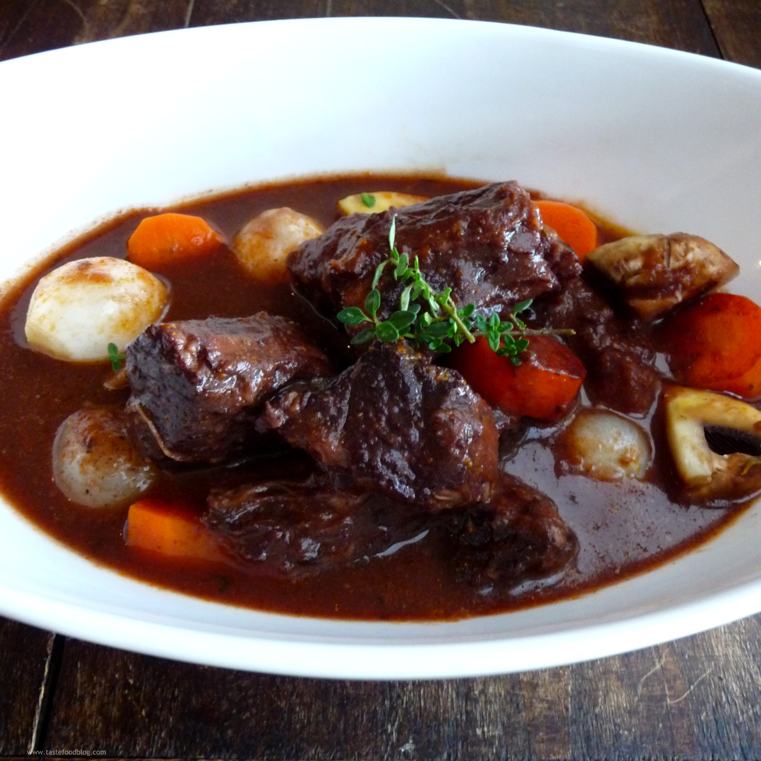 Aprés-Ski Menu: Beef Bourguignon | TasteFood