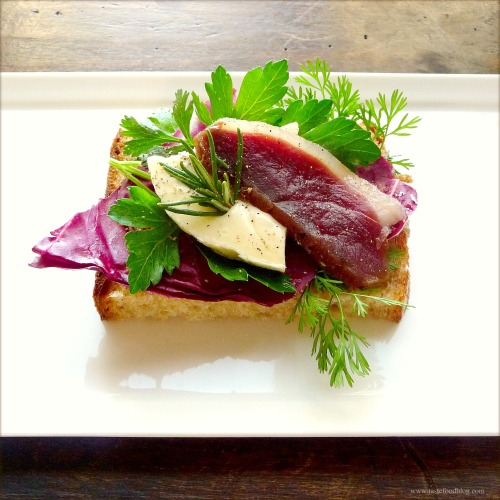 Homemade Duck Prosciutto and a Tartine | TasteFood