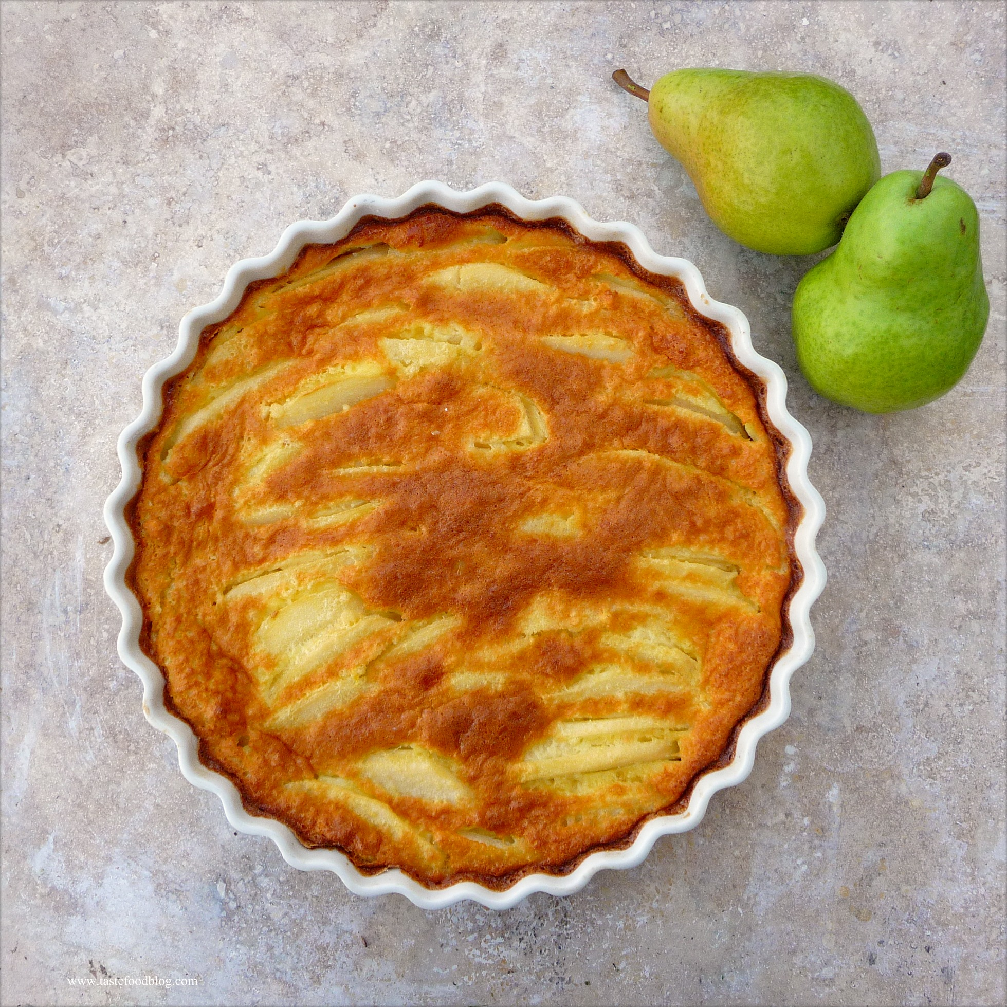 clafoutis pear cardamom clafoutis pear clafoutis with cardamom pear ...