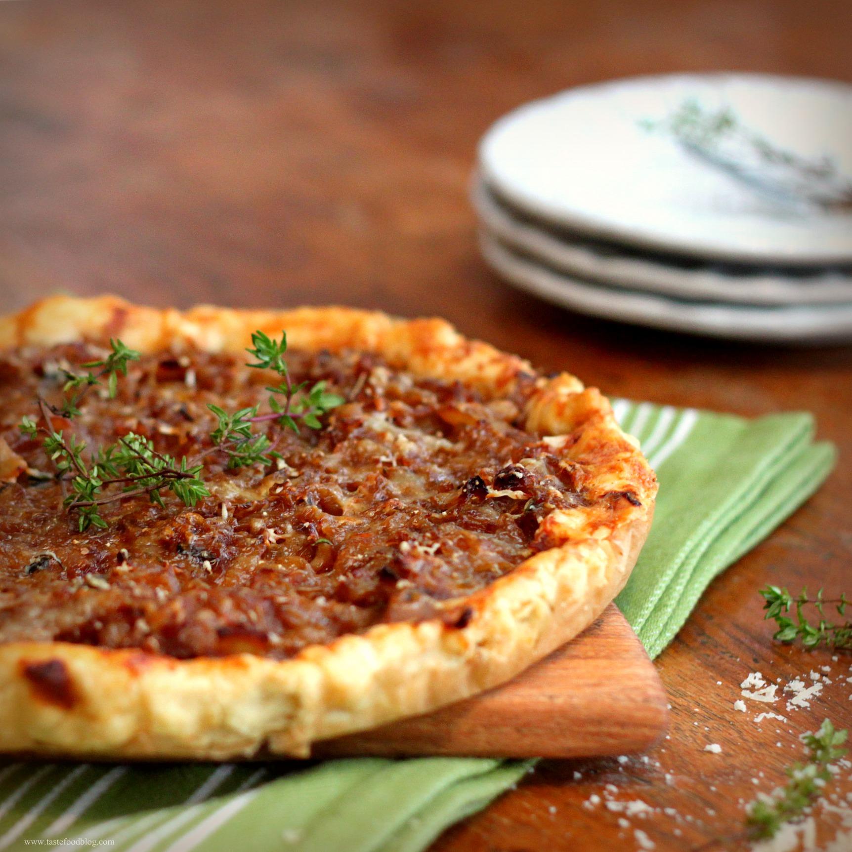 ... onion tart onion thyme tart recipe onion ricotta and thyme tart