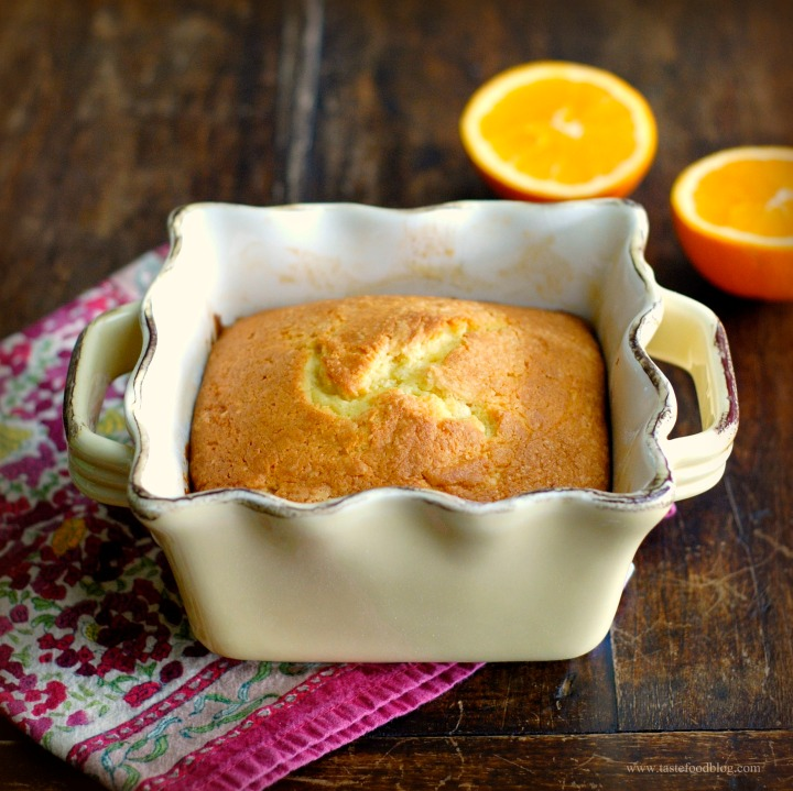 Orange Spiced Pound Cake