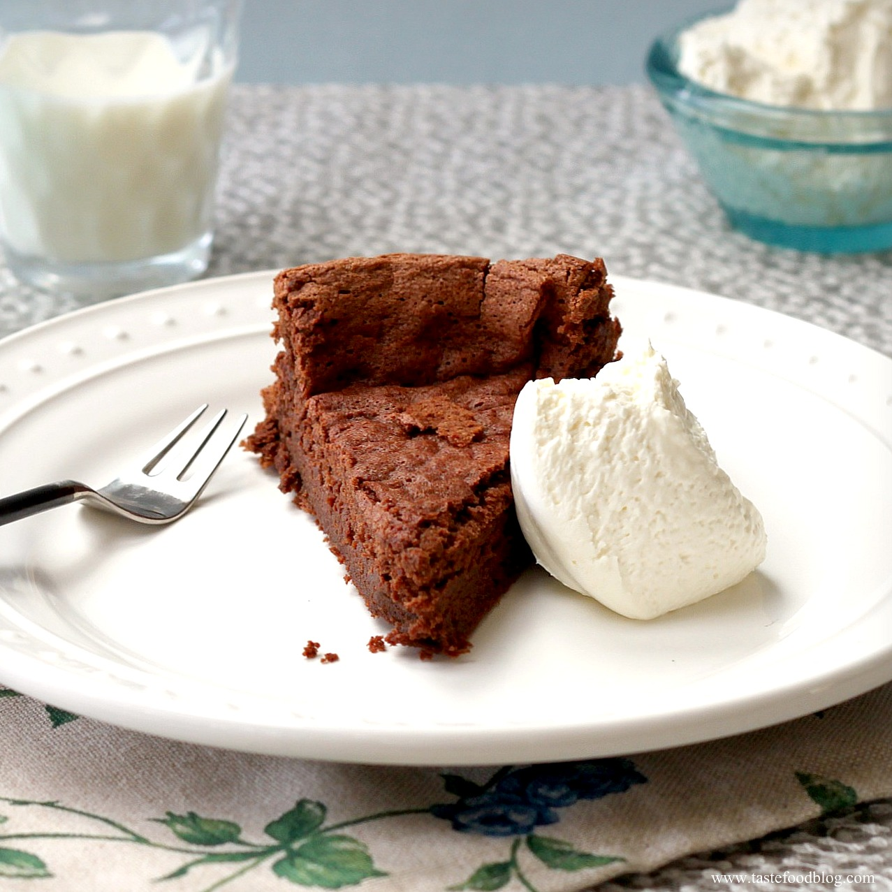 Flourless Dark Chocolate Cake Recipe — Dishmaps