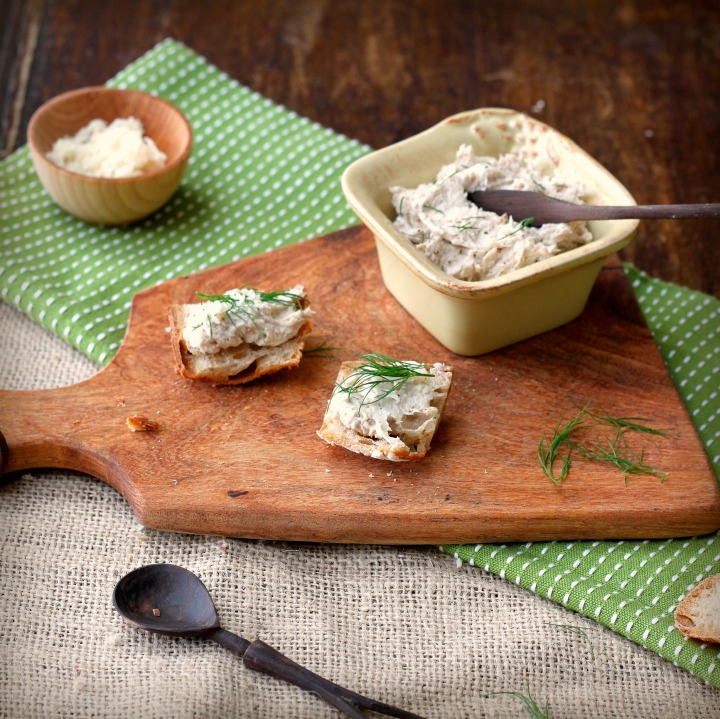 Smoked Mackerel Paté with Horseradish and Dill