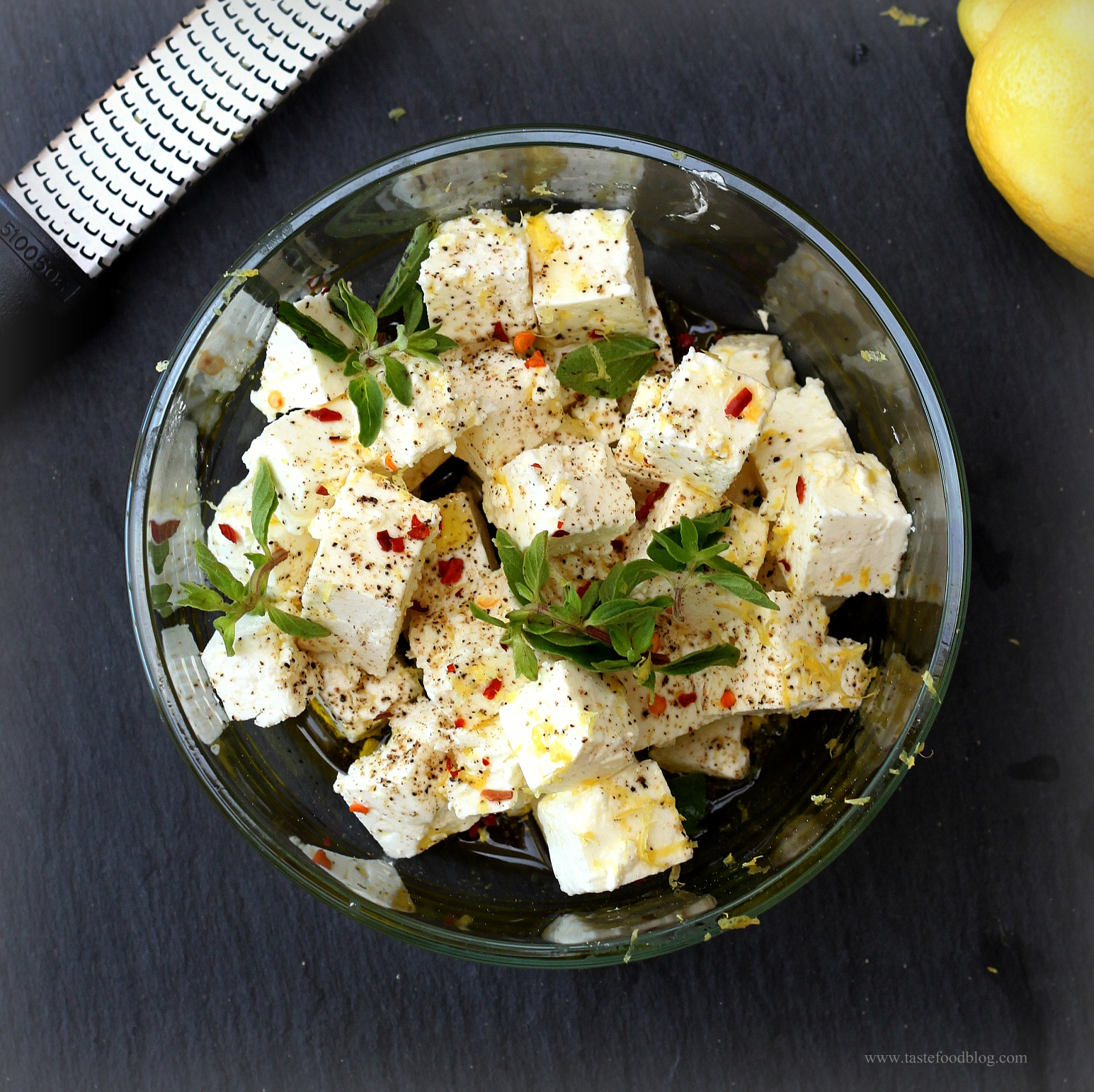 images Salad with Marinated Feta