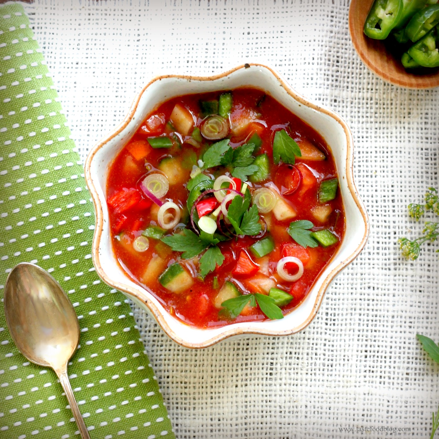 Beat the Heat: Gazpacho | TasteFood