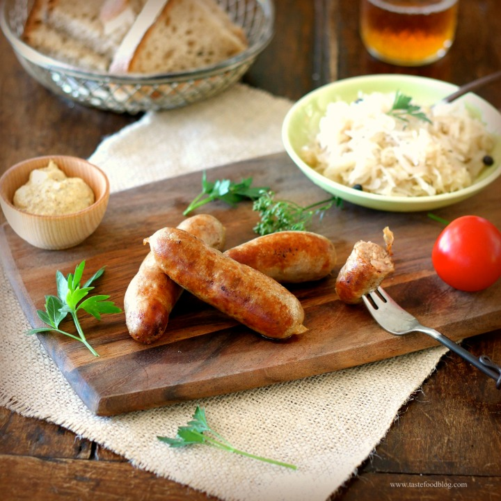 Homemade Bratwurst and a recipe for BeerMustard