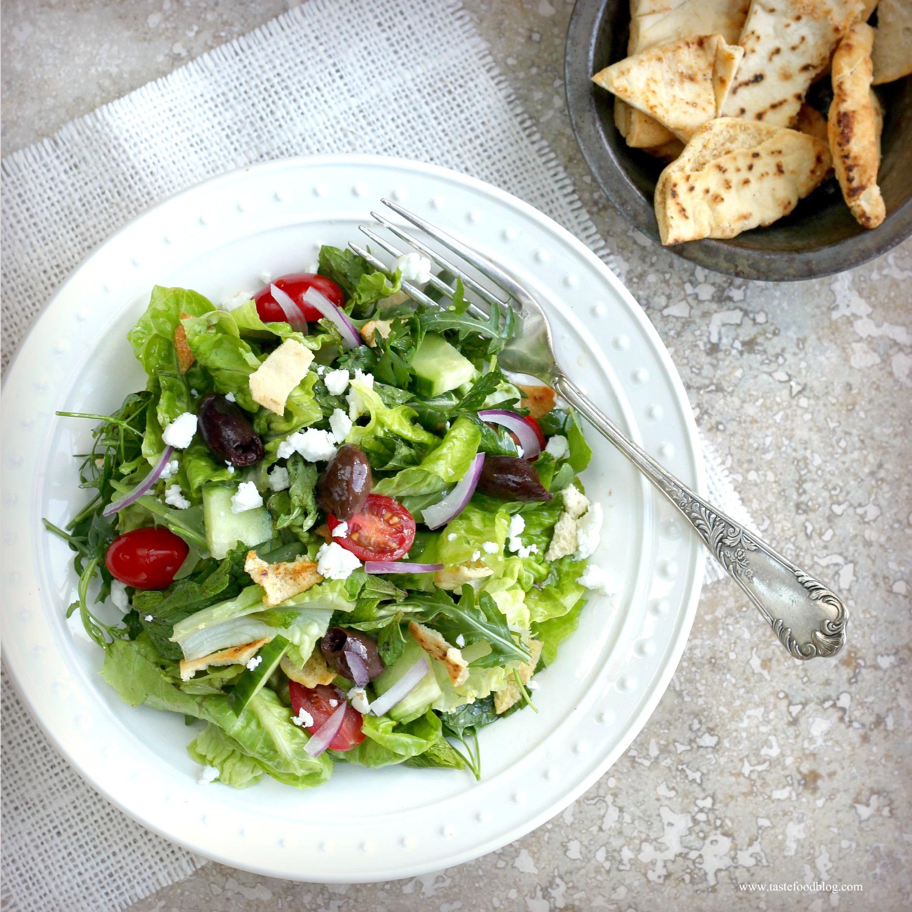 Fattoush Salad | TasteFood