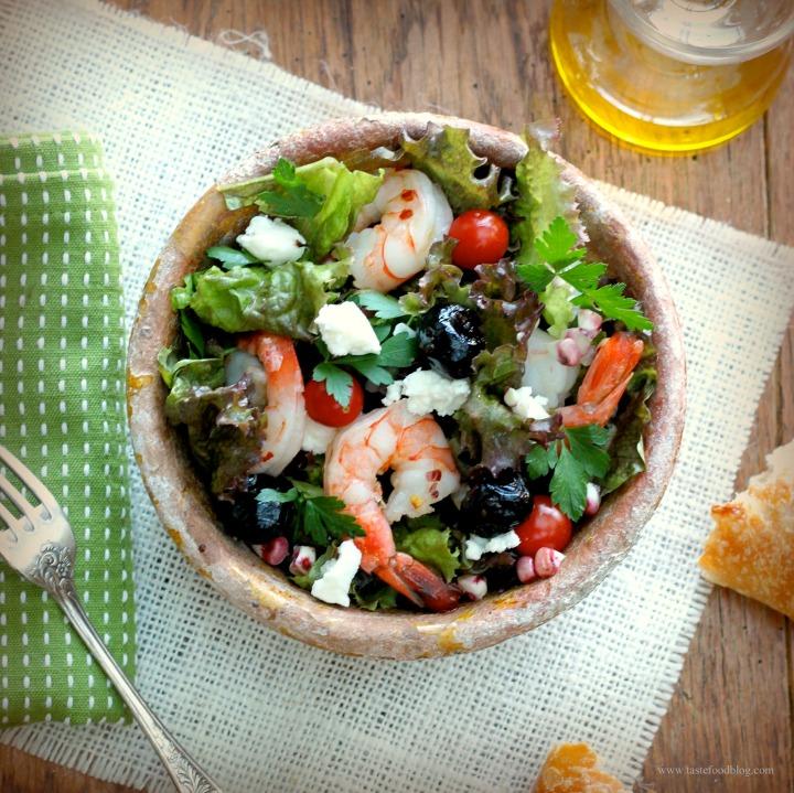 Shrimp and FetaSalad
