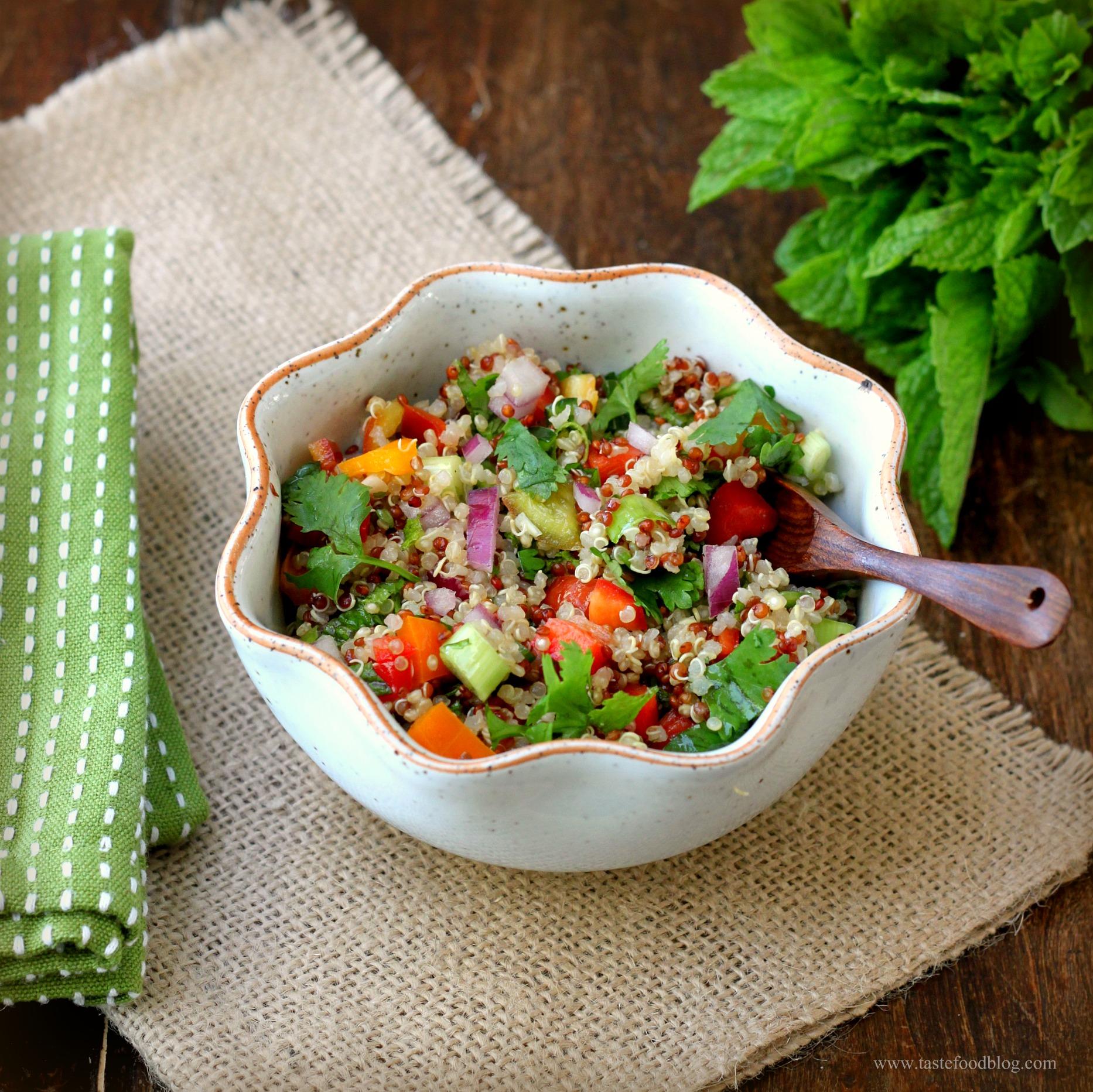 Quinoa Tabbouleh | TasteFood