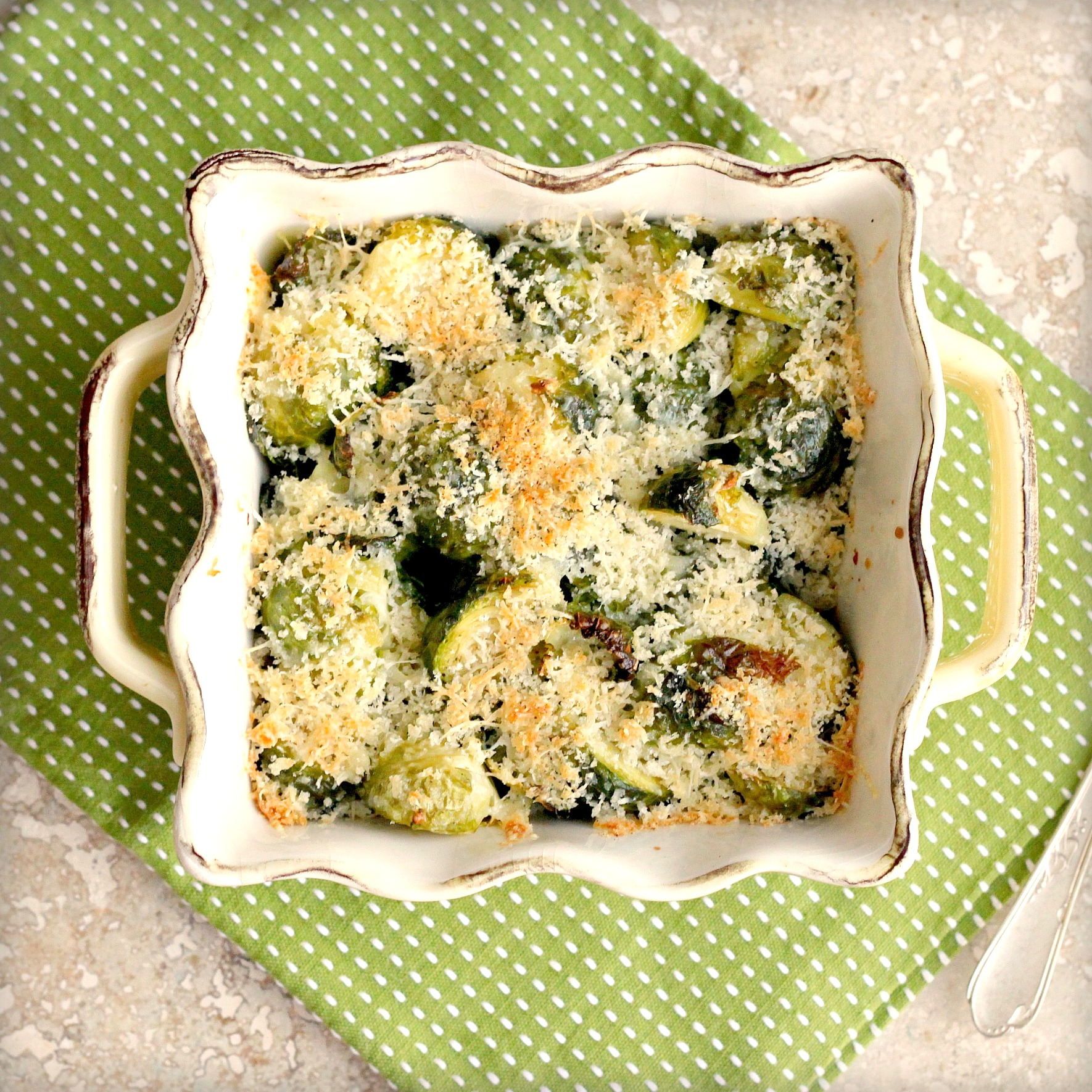 Brussels Sprout Gratin | TasteFood