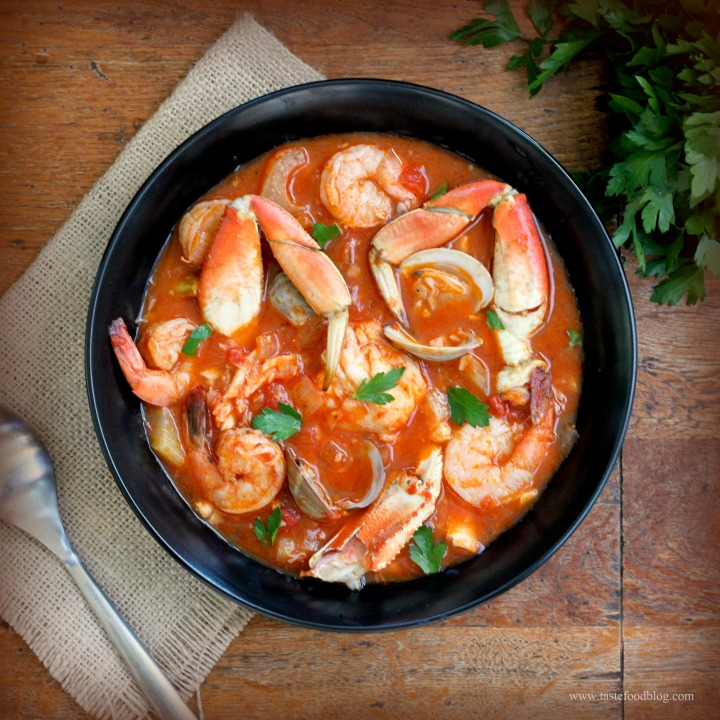 Cioppino with a Twist