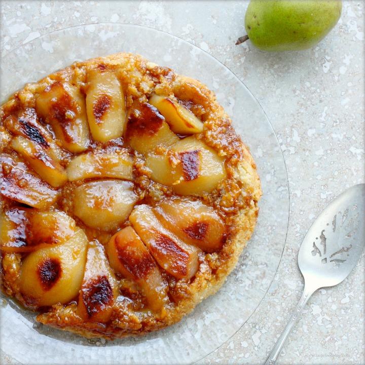 Pear and Cardamom TarteTatin