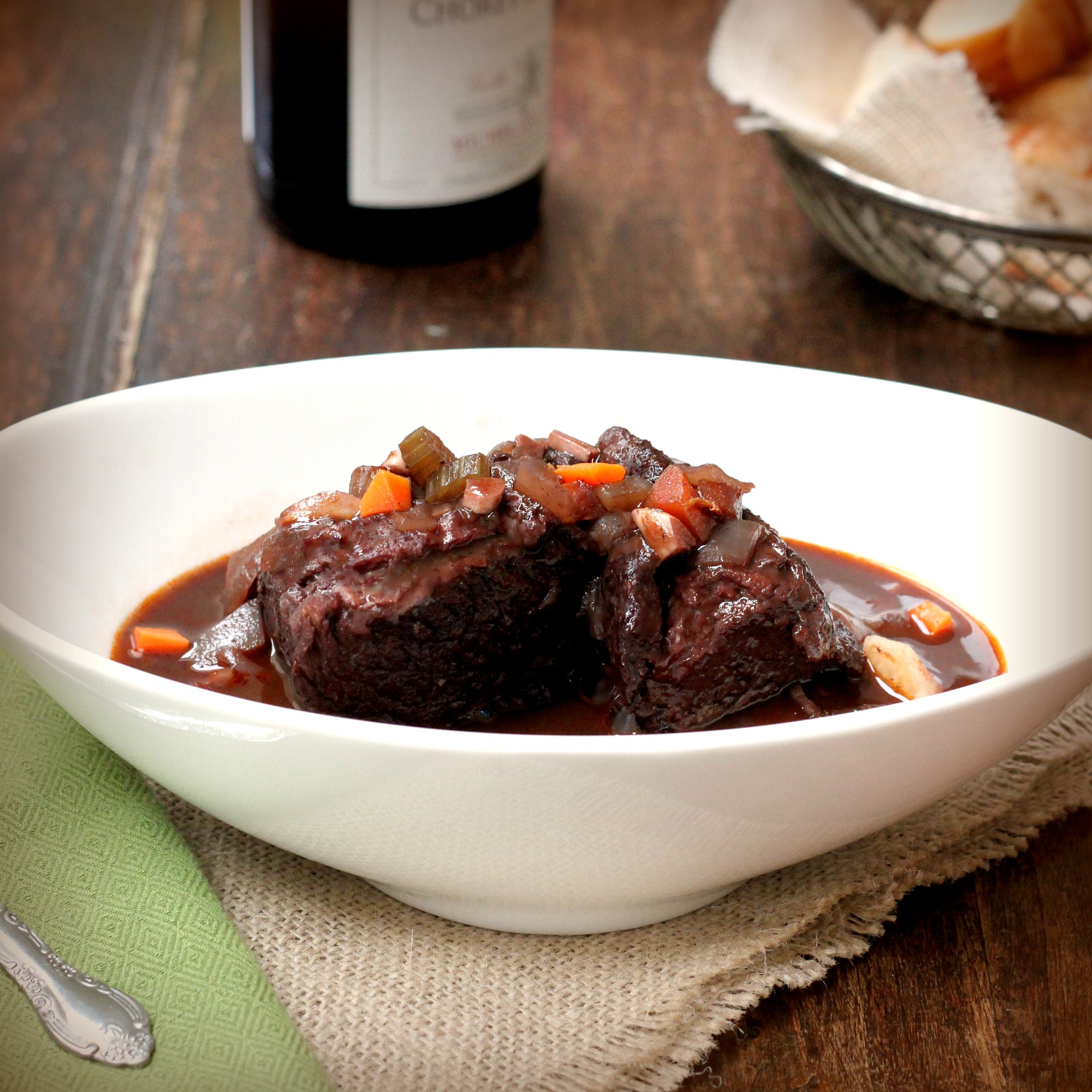 Image result for Red wine – Braised short ribs