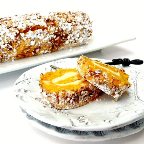 Pumpkin Roulade Cake Ina Garten