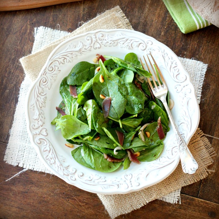 The Cure and a Recipe for Spinach Salad with Warm BalsamicVinaigrette