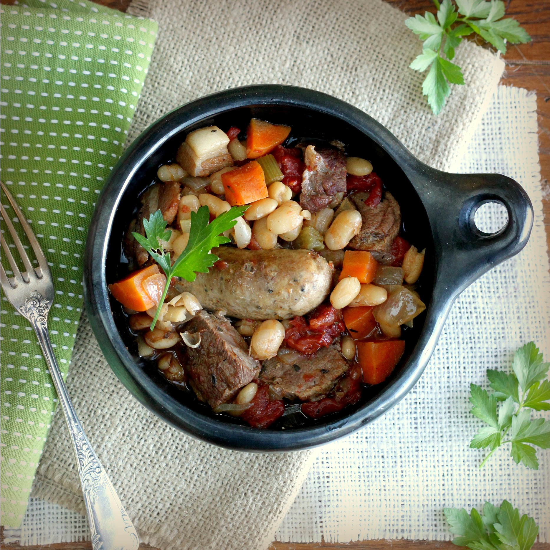 French Pork Stew With White Beans Recipes — Dishmaps