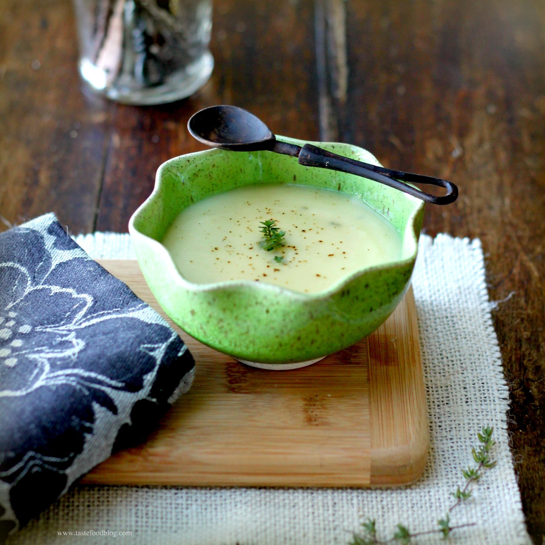 Celery root soup tf