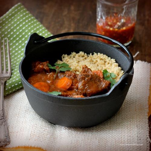 Lamb Stew with Raisins and Honey | TasteFood