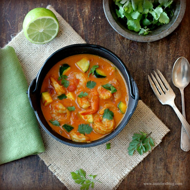 Low Sodium Love: Coconut Shrimp Curry
