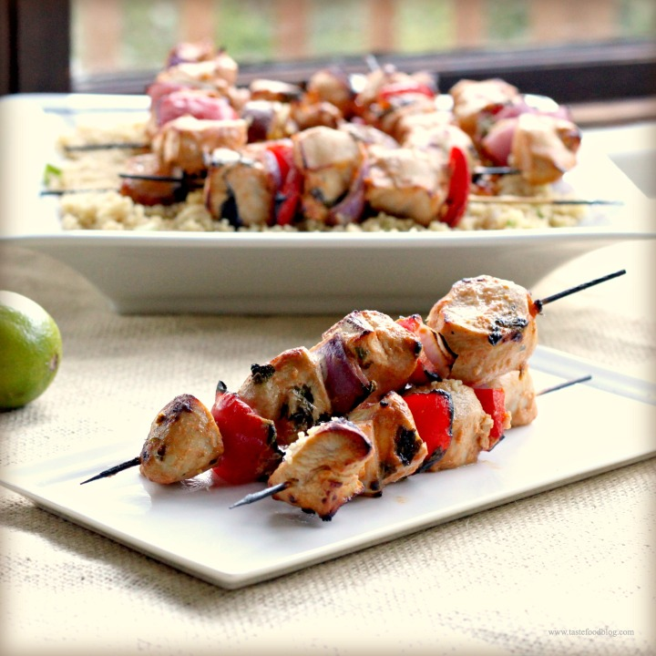 No-Fail Sriracha Marinade and a recipe for Grilled Chicken Skewers