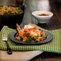 shrimp bulgur tf