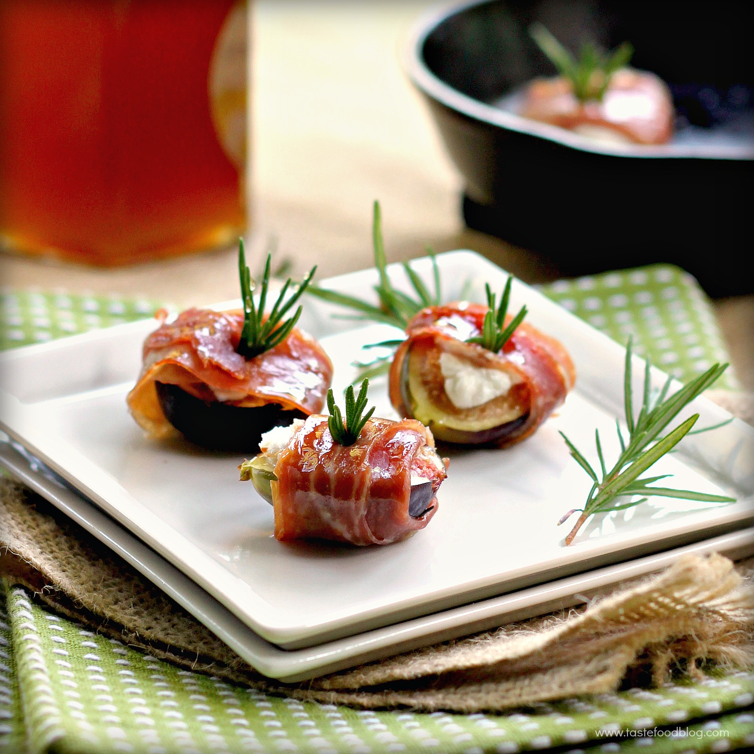 Legends of europe prosciutto figs with goat cheese and rosemary my forumfinder Image collections